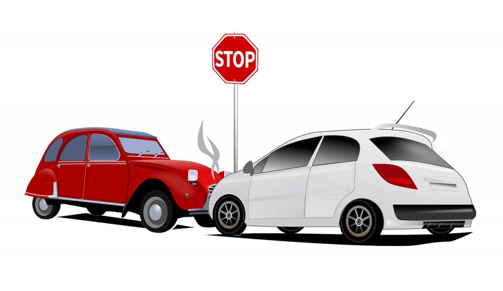 התנגשות בין שני רכבים